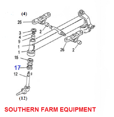 Products | YANMAR FRONT AXLE PARTS | SOUTHERN FARM EQUIPMENT