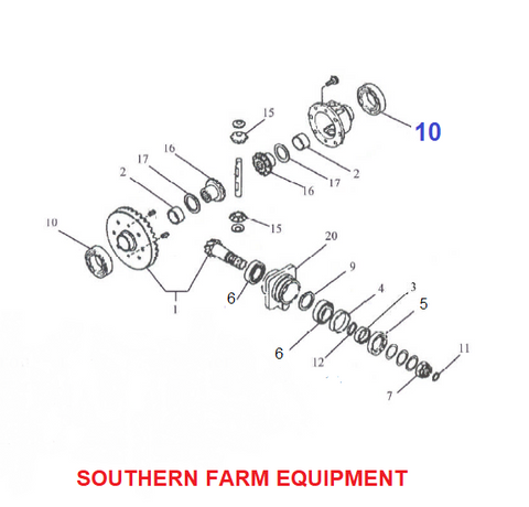 SF-6009-2RS   BEARING, RING GEAR