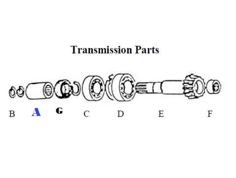 SFSC-4110 SPLINED COUPLER, TRANSMISSION