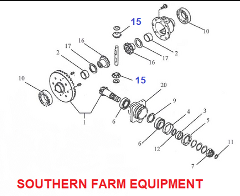 SFPG-4420   PINION GEAR