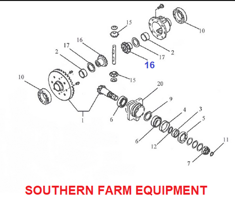 SFPG-4190  PINION GEAR
