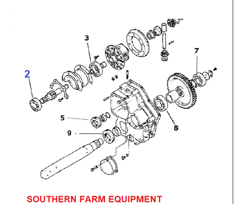 SF-6206-2RS  BEARING, BRAKE AXLE