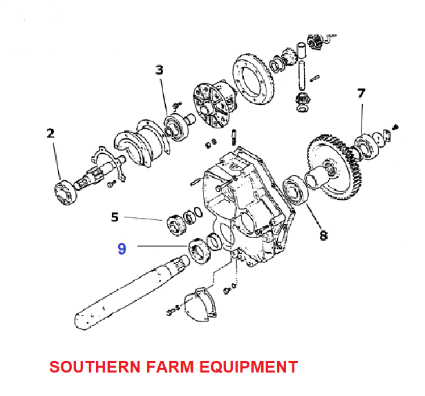 SFAS-1300  SEAL, REAR AXLE