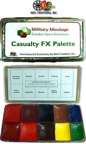 REEL Creations Casualty FX Palette