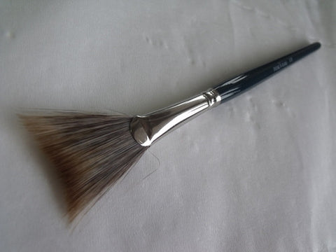London Brush Company Nouveau 17 Soft Concave Fan