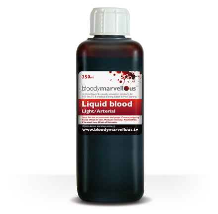 Bloody Marvellous Thick Liquid Blood Light