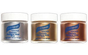 Graftobian Cosmetic Powdered Metal 1/2 oz