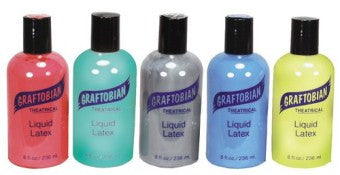 Graftobian Liquid Latex - Coloured - 8 oz