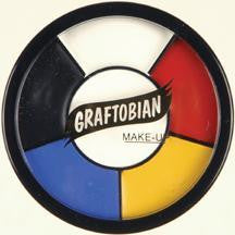 Graftobian Clown Wheel 1oz - 5 colours