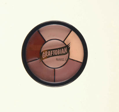 Graftobian Old Age Wheel - 1oz, 5 colours