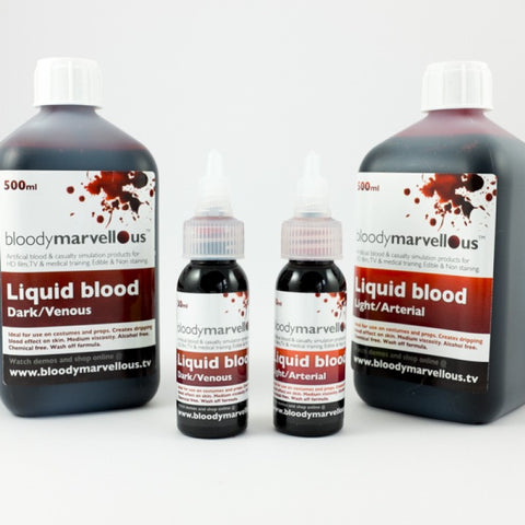 Bloody Marvellous Liquid Blood  (Dark/Venous)