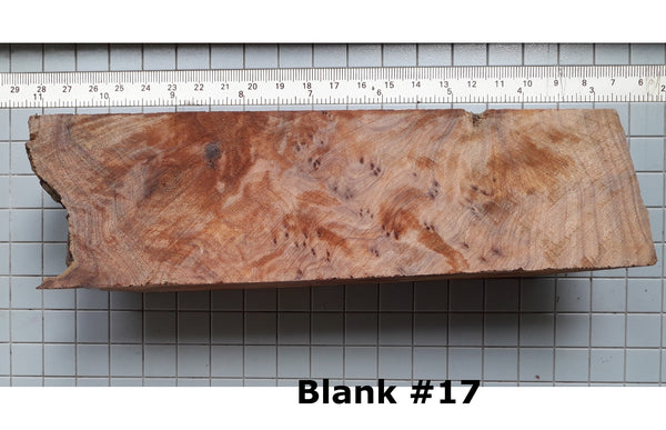 THUJA BURL WOOD BLANKS