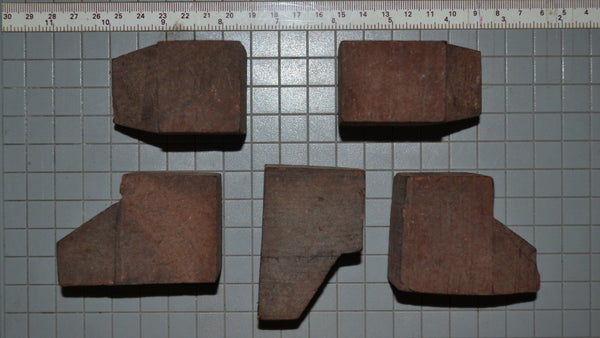 BRIAR EBAUCHON BLOCKS 6 PCS LOT SIZE5