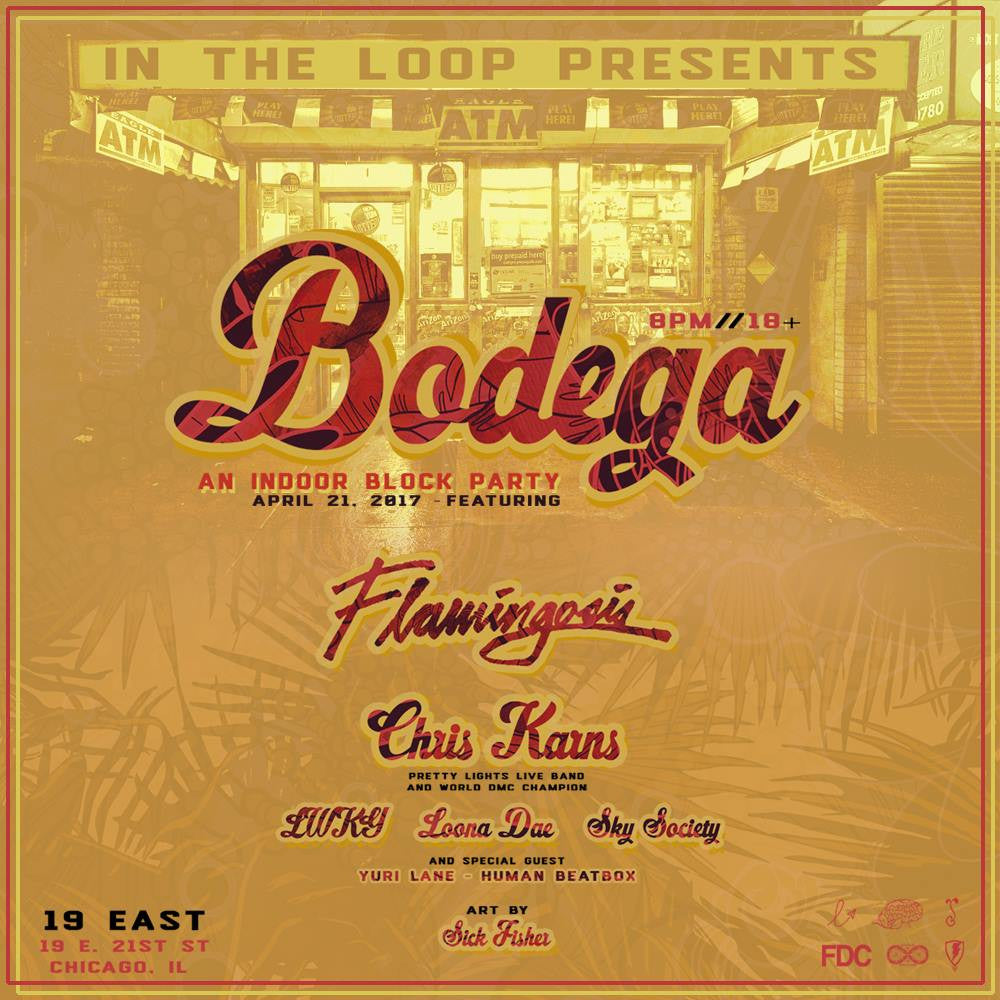 Bodega, April 21 @ 19 East