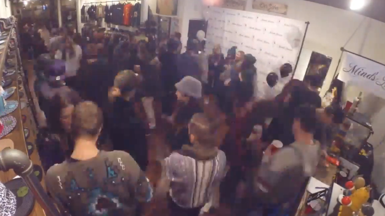 Here's a time lapse of our Winter Release Party