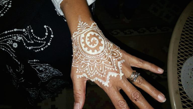White Henna, Anyone?