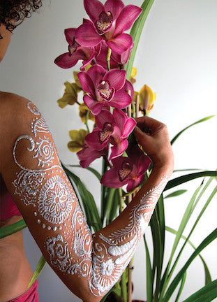 Spring Flowers and Body Art