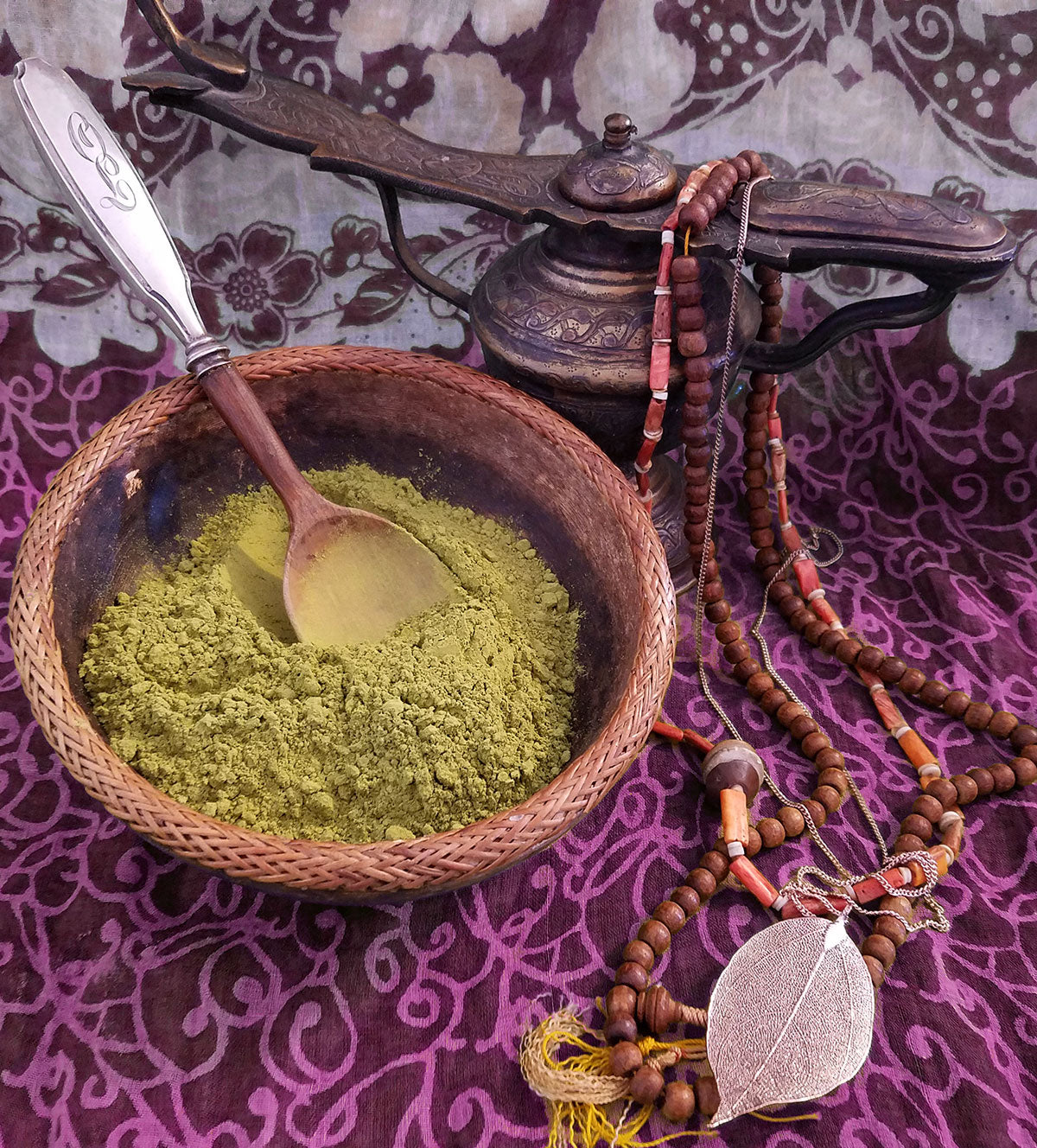 Henna powder from Morocco