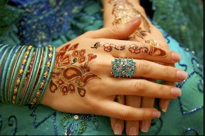 Turkish henna design