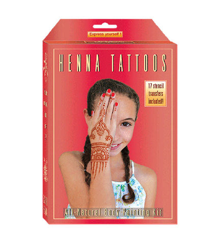 Kids' Henna Body Painting Kit