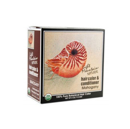 Henna Hair Color Treatment - Mahogany