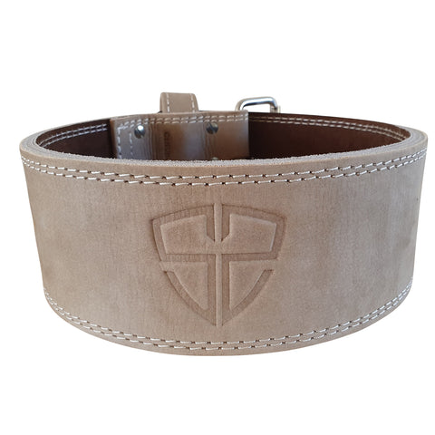 Hyde Leather Belt - Oat
