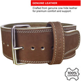 HYDE Leather Belt - Brown