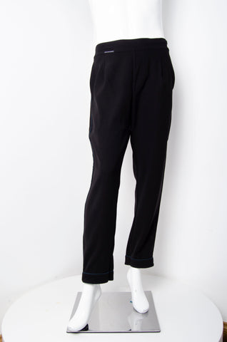 Black Pyjama Chic Pants