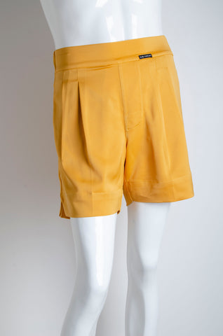 Amber Yellow Pyjama Chic Shorts