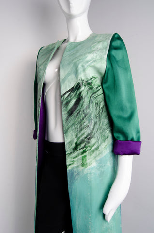 Hand Painted Dripping Amends Coat