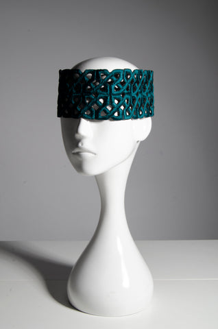 Deconstructed Palestinian Headpiece