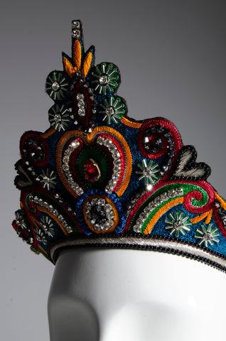 Swarovski Embroidered Crown