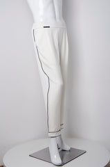 White Pyjama Chic Pants