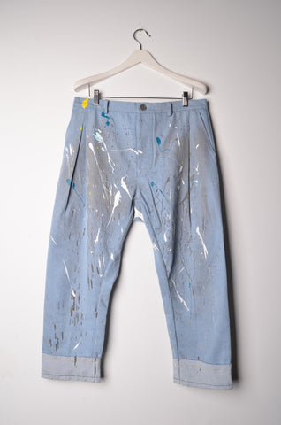 The Painted Denim Jeans