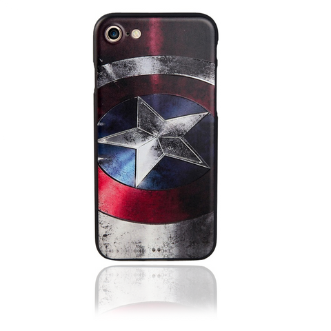 Hero iPhone 5, 6, & 7 Case - Captain America