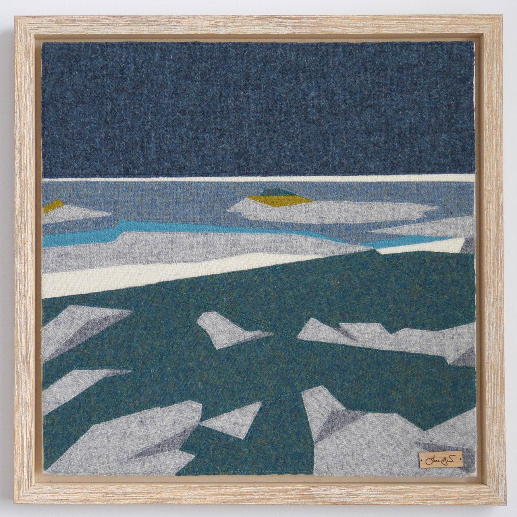 Arisaig Landscape Artwork Geology Scottish Artist Jane Hunter