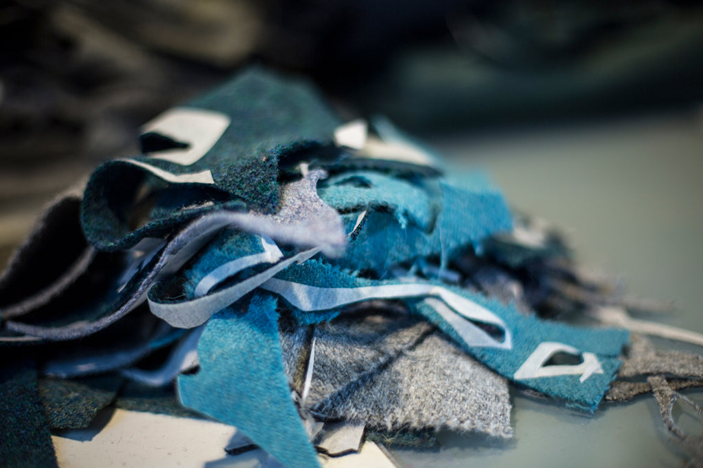 Harris Tweed Blues and Teals by Tom Barr Photography