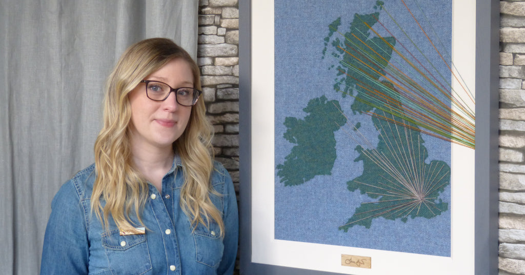 Jane Hunter Brexit Britain Map Art