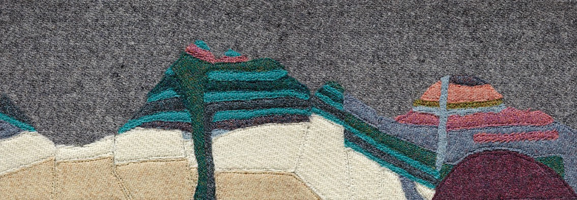 Buachaiile Etive Mor Beag Glencoe Scotland Jane Hunter Scottish Textile Artist Geology