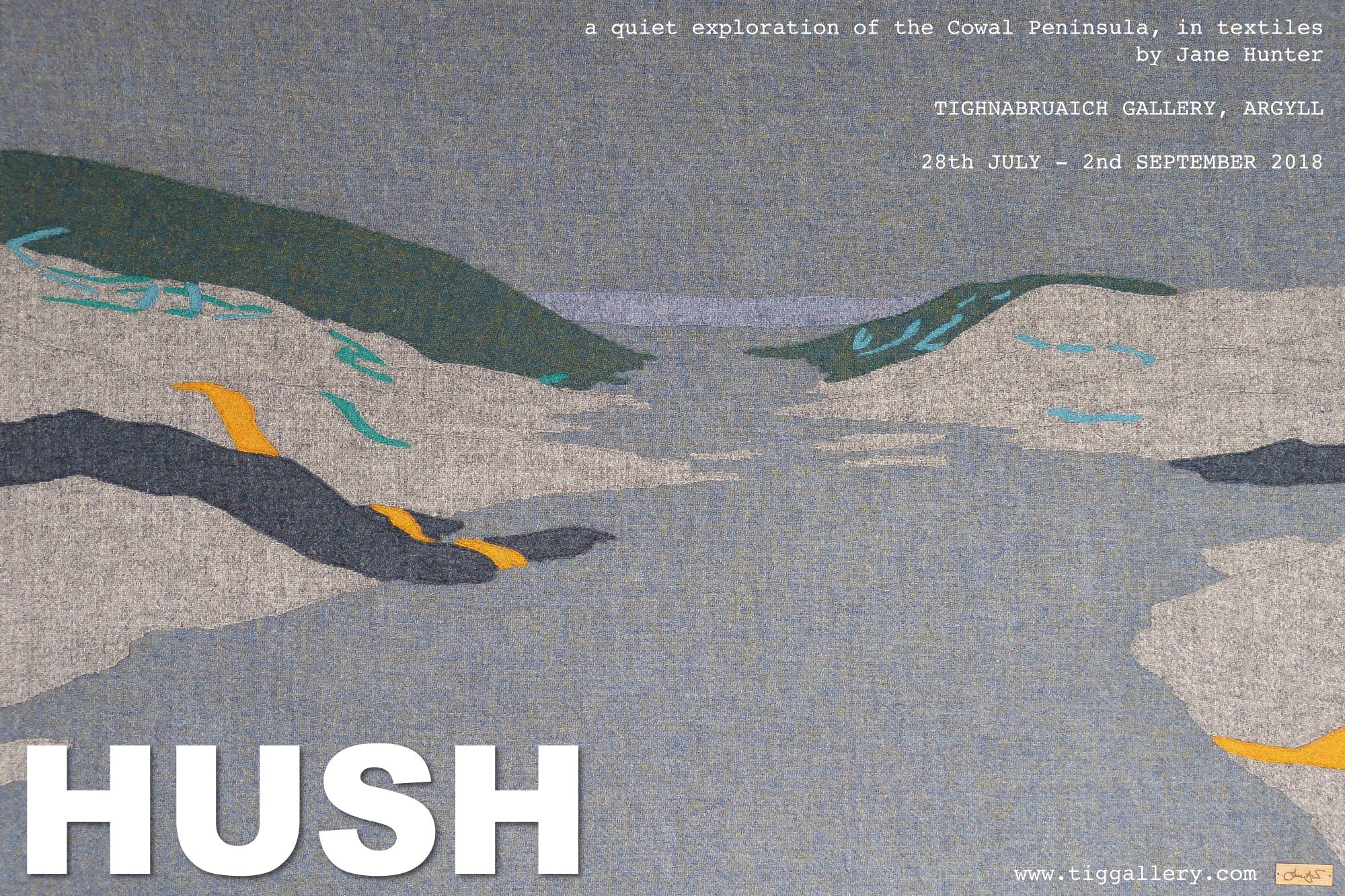 Hush - Art Exhibition - Things to do in Argyll Summer 2018