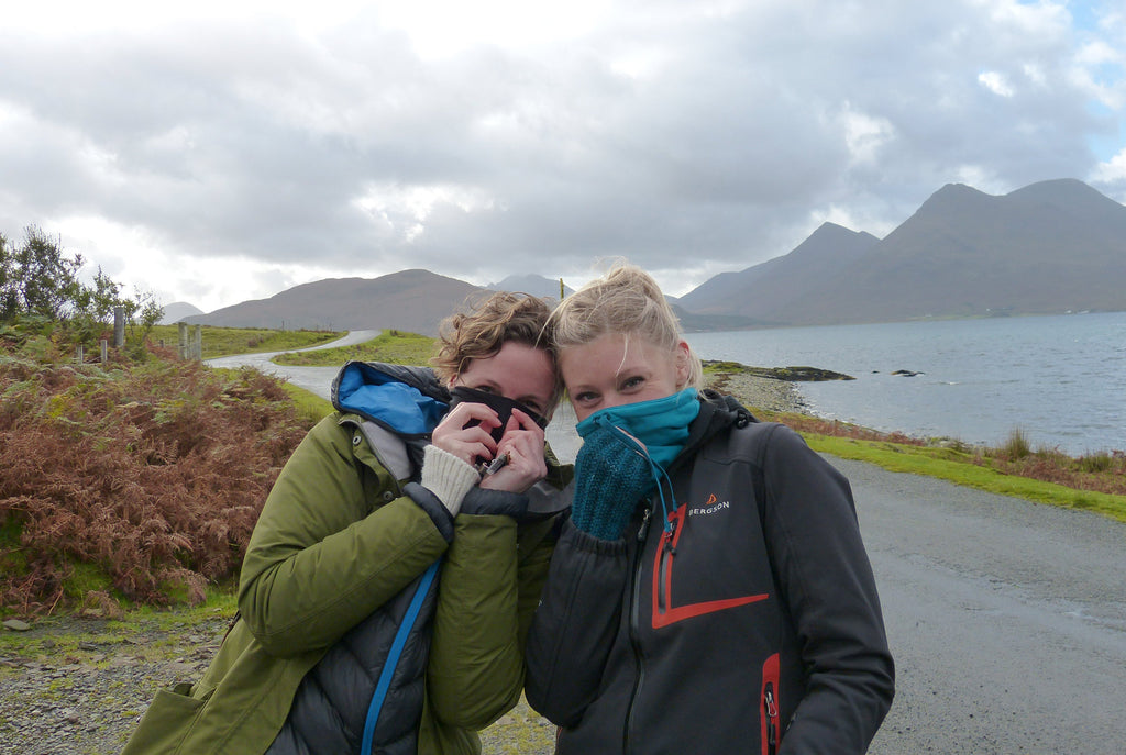 Heather Pearson and Jane Hunter - Writer and Artist - On Raasay