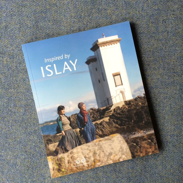 Book Cover - Inspired by Islay - Knitwear Design by Kate Davies
