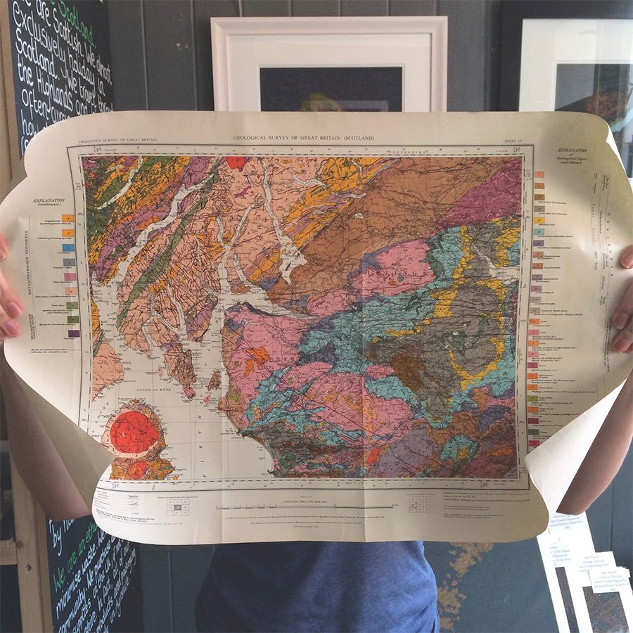Jane's Geological Map of Clyde Coast