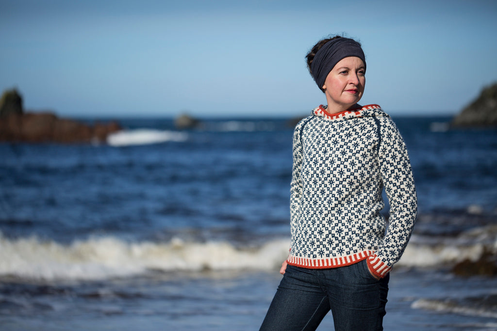 The Oa Hoody, Killeen, Islay by Kate Davies Designs