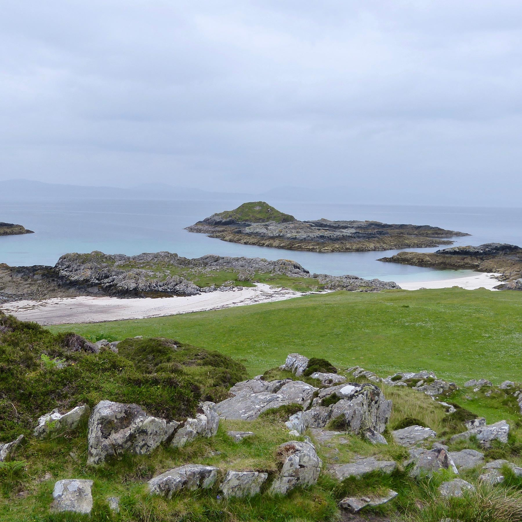 Port Nam Murragh Arisaig Beach Geology