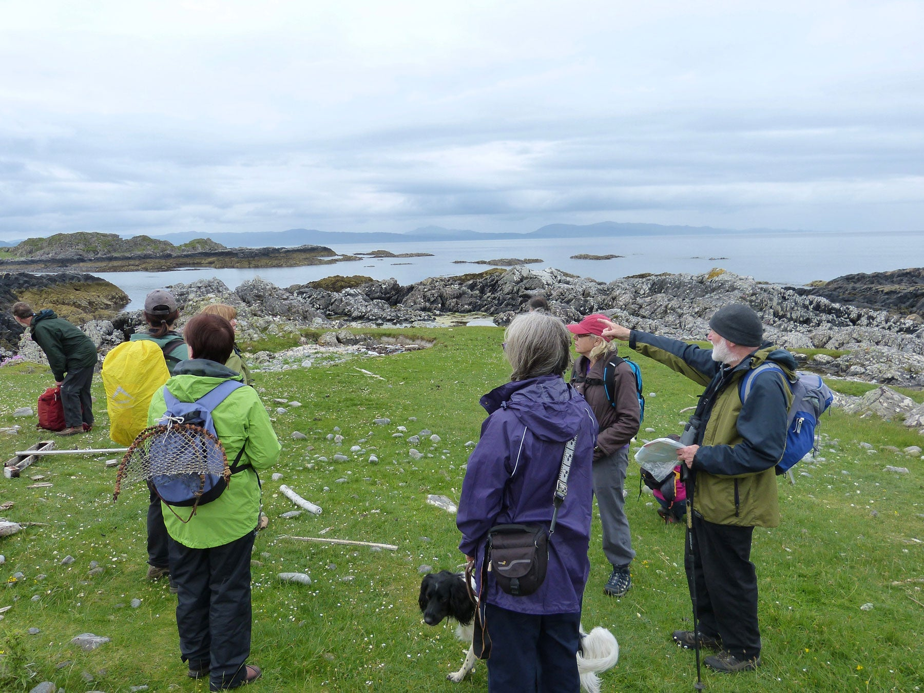 Jane Hunter Lochaber Geopark Geology Excursion Rhu Peninsula Arisaig