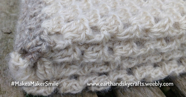 Earth and Sky Crafts - Handmade British Wool Blanket