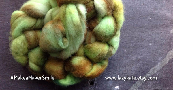Lazy Kate - Hand Dyed Spinning Yarn