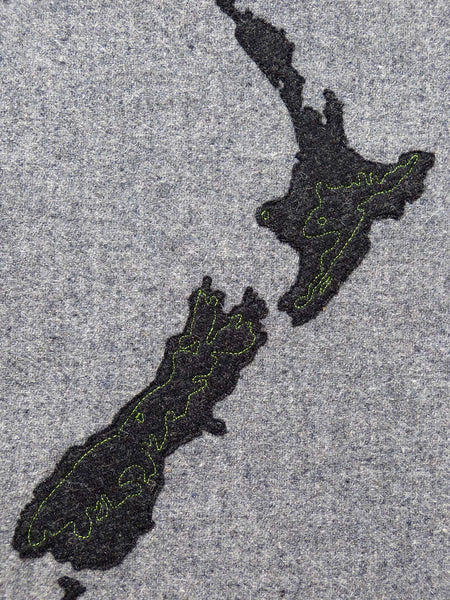 New Zealand Map Art Commission