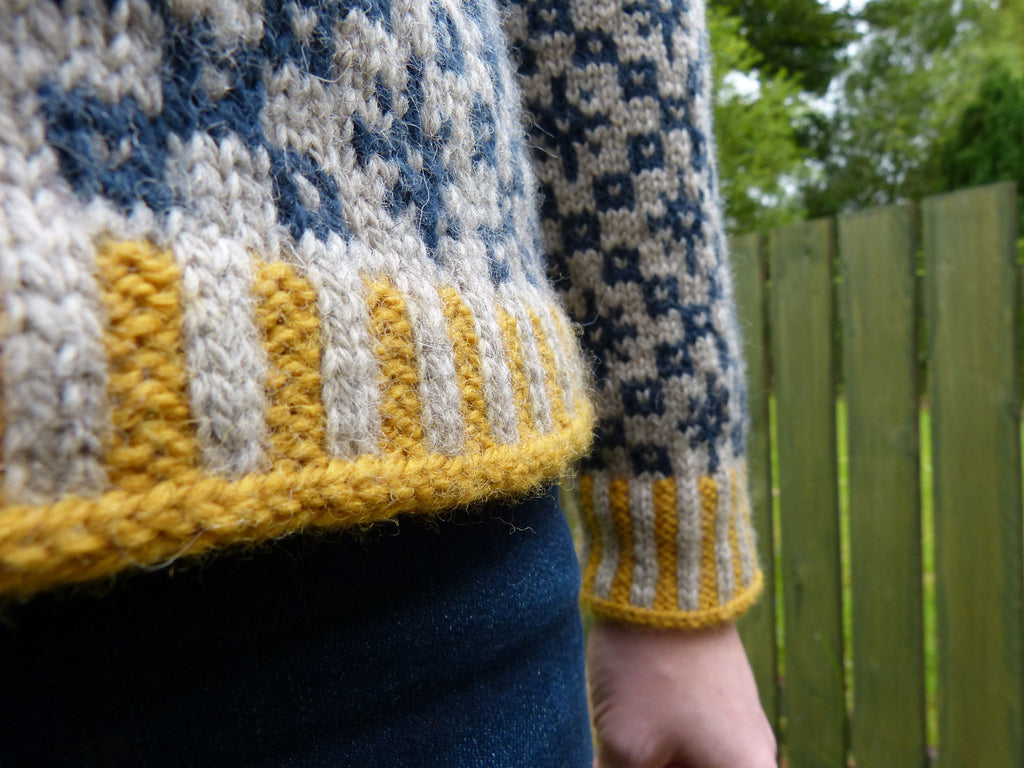 Kate Davies Designs Oa Hoody - Hand Knit in Scotland by Shona Mason
